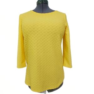 Jules & Leopold Yellow Top Size M